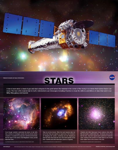 Chandra X-ray Space Telescope--one of the NASA missions to which MATECH contributed equipment and process expertise